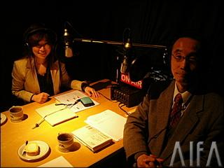ロミレー保泉の0学心理「男と女」 第20回放送 収録後写真